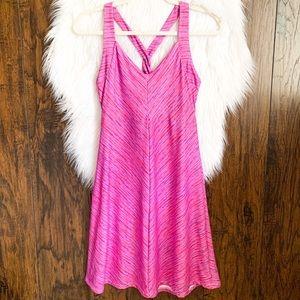 TEHAMA Athletic Racerback Pink/Purple Dress Size S